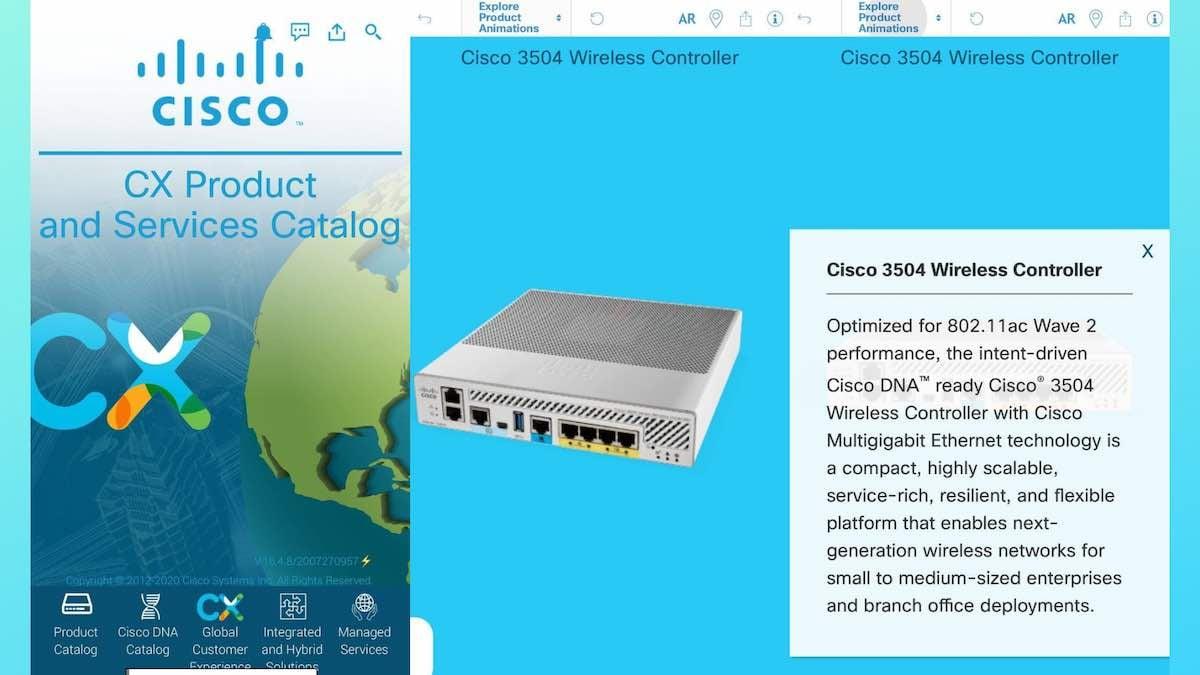 Cisco Screenshot